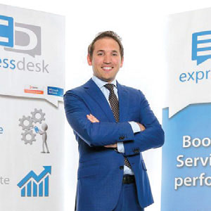 Stephane Fornaroli, General Manager, ExpressDesk