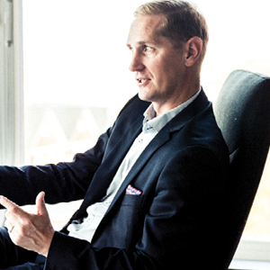 Thomas Lundberg, CEO, Crosskey