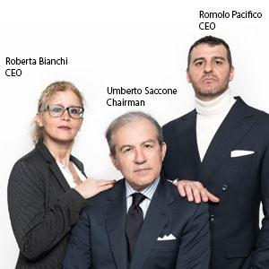 Roberta Bianchi, CEO, Umberto Saccone, Chairman and Romolo Pacifico, CEO, IFI Advisory