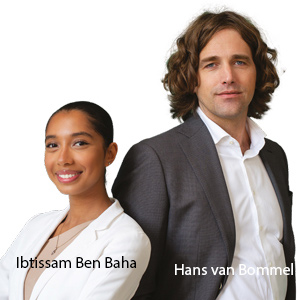 Ibtissam Ben Baha, General Manager and Hans van Bommel, CEO, Cycle to Accelerate