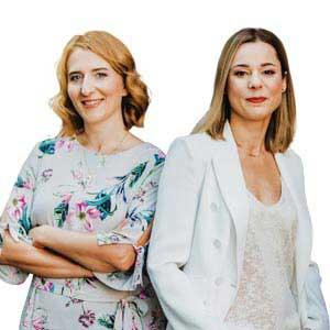 Aleksandra Porębska-Nowak and Aleksandra Prusator,  Co-founders and Members of Board, FORDATA
