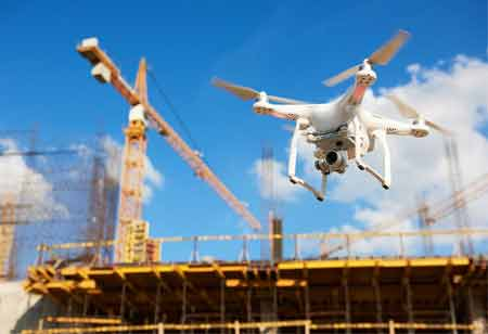 Four Benefits of Drones in Construction