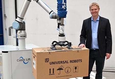 Cobot Lift: Collaborative Robotics Solution For Heavy Lifting