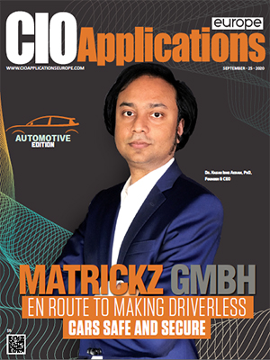 Matrickz GmbH : En Route To Making Driverless Cars Safe And Secure