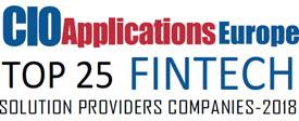 Top 25 FinTech Solution Companies - 2018